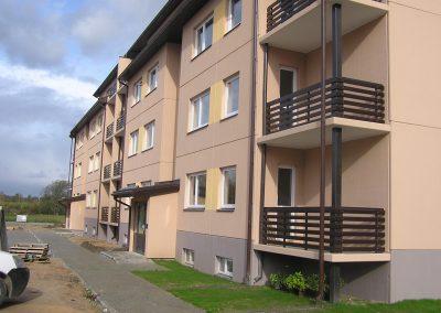 Daudzdzīvokļu māja Valmierā I kārta