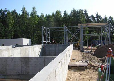 Baldones notekūdeņu attīrīšanas iekārtu un dzeramā ūdens stacijas izbūve