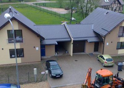 """12 dzīvokļu māja kvartālā """"Siguldas Mājas"""""""