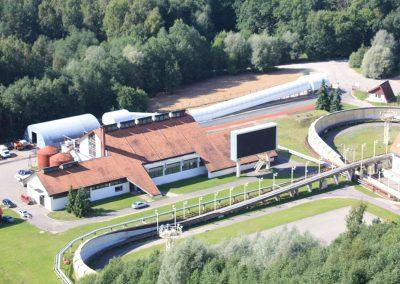 Bobsleja un kamaniņu starta estakādes izbūve Siguldas Bobsleja un kamaniņu trases teritorijā