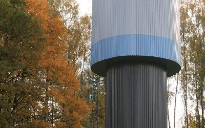 Esam pabeiguši ūdenstorņa rekonstrukciju un atdzelžošanas stacijas būvniecību Baldonē