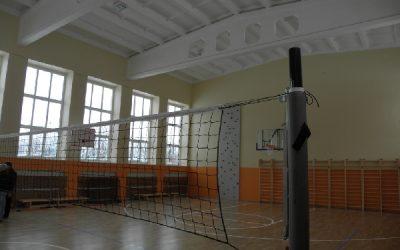 Esam pabeiguši renovācijas darbus Mālpils profesionālas vidusskolas sporta zālē un palīgtelpās