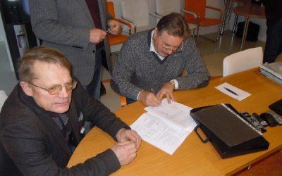 """Esam nodevuši ekspluatācijā būvobjektu """"Ūdensapgādes un kanalizācijas tīklu būvniecība Siguldā. 2. iepirkuma daļa"""" Id.nr. SA 2011 04 (Nr.25)"""