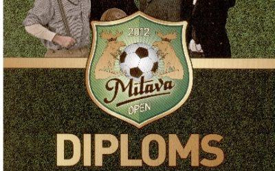Arī šogad mūsu futbola komanda piedalījās Mītava Open 2012