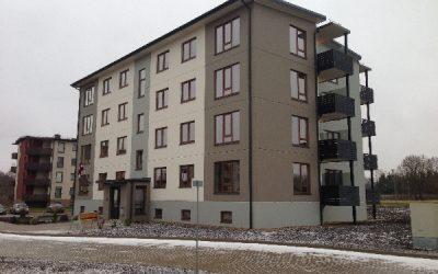 Siguldas Māju kvartālā tapusi jau devītā daudzdzīvokļu māja