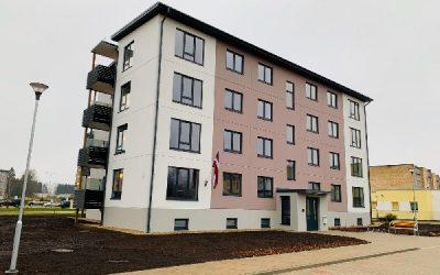 Esam nodevuši ekspluatācijā jaunu daudzdzīvokļu māju Siguldas Māju kvartālā