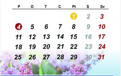 """RBTC """"Gāles Nams"""" darba laiki maijā"""