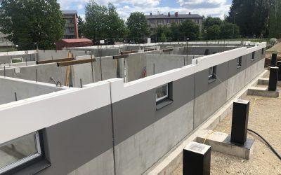 Cēsu Māju kvartālā esam uzsākuši pirmās daudzdzīvokļu mājas būvniecību