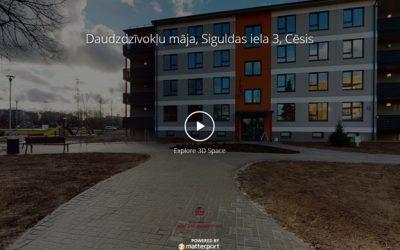 Jaunā Cēsu Mājas 360 virtuālā tūre