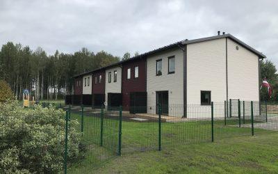 Augusta beigās esam nodevušu ekspluatācijā jauno sešu dzīvokļu māju Siguldas Māju kvartālā Jāņogu ielā 19